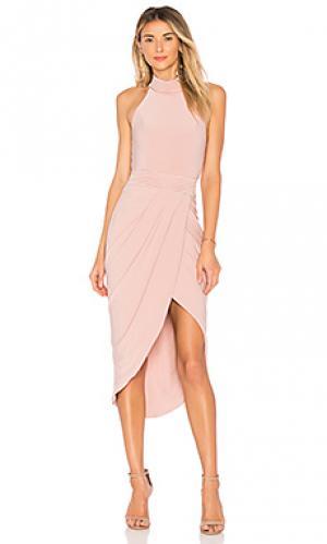 Платье miracle Zhivago. Цвет: румянец