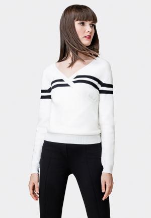 Пуловер Pompa. Цвет: белый