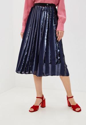 Юбка Trussardi Jeans. Цвет: синий