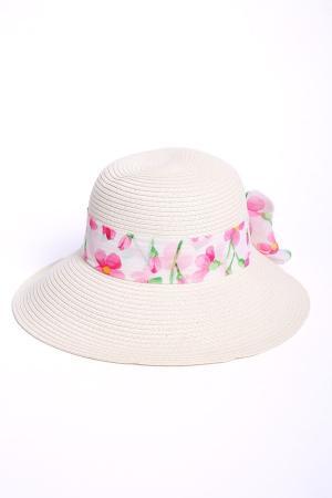 Шляпа Pezzo. Цвет: белый