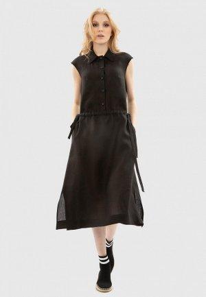 Платье Энсо. Цвет: черный