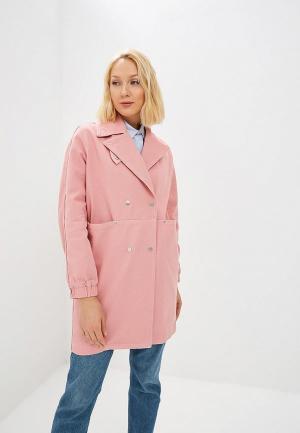 Куртка джинсовая Baon. Цвет: розовый
