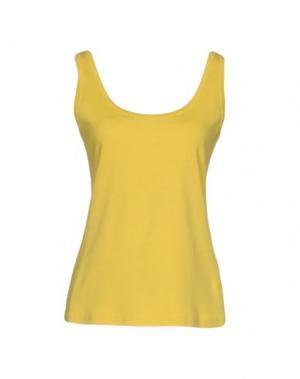 Майка ASPESI. Цвет: желтый