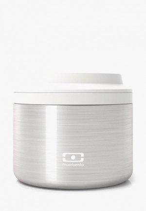 Ланчбокс monbento MB Element S. Цвет: серебряный