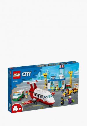 Конструктор LEGO Central Airport. Цвет: разноцветный