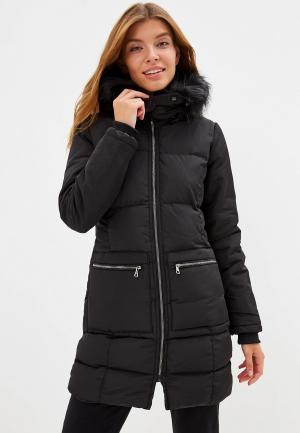 Куртка утепленная Giorgio Di Mare. Цвет: черный