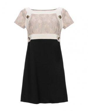 Короткое платье ALICE SAN DIEGO. Цвет: черный