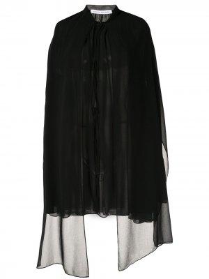 Платье мини Antoine с кейпом CAMILLA AND MARC. Цвет: черный