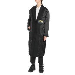 Пальто S32AA0152 черный MM6 MAISON MARGIELA