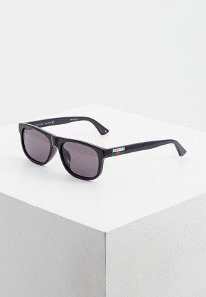 Очки солнцезащитные Gucci GG0770SA 001. Цвет: черный