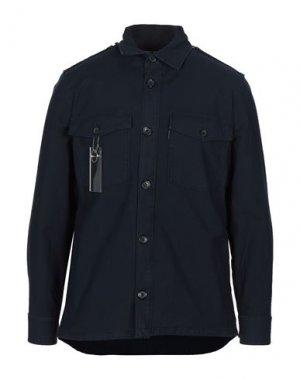 Pубашка DEPARTMENT 5. Цвет: темно-синий
