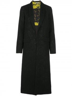 Пальто Angela Alice+Olivia. Цвет: черный