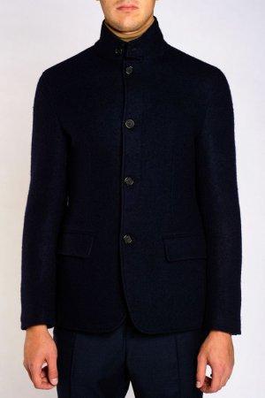 Пальто Zegna. Цвет: синий