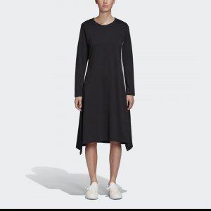 Платье W SIGNT Y-3 adidas. Цвет: черный