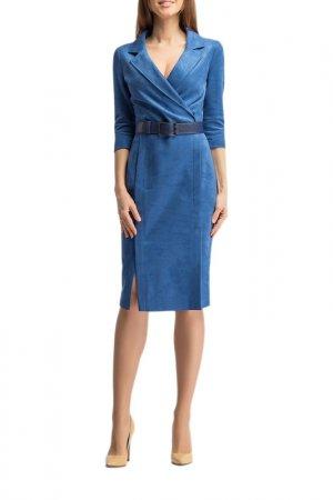 Платье Giulia Rossi. Цвет: васильковый