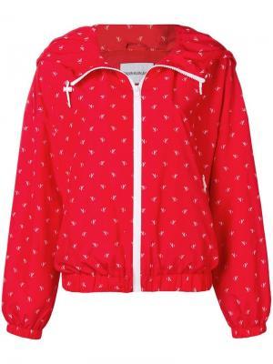 Куртка-бомбер с принтом логотипа Calvin Klein Jeans