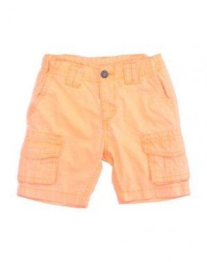 Бермуды KRYTIK. Цвет: оранжевый