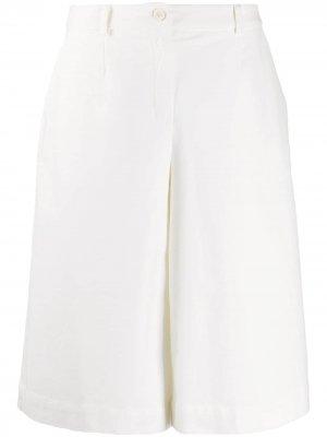 Wide-leg culotte trousers Stefano Mortari. Цвет: белый