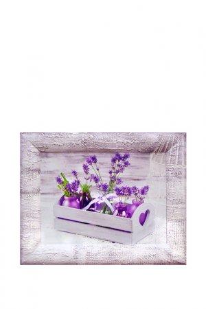 Картина-репродукция Лаванда 2 Декарт. Цвет: белый, фиолетовый