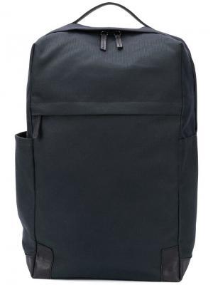 Квадратный рюкзак Ally Capellino. Цвет: синий