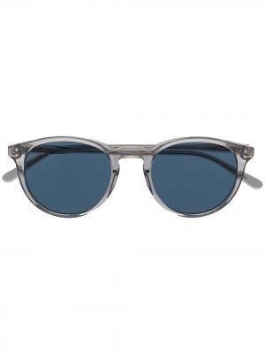 Солнцезащитные очки Collegiate Polo Ralph Lauren. Цвет: серый