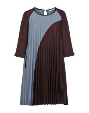Короткое платье BEATRICE .b. Цвет: баклажанный