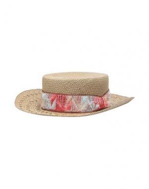 Головной убор SUPER DUPER HATS. Цвет: песочный