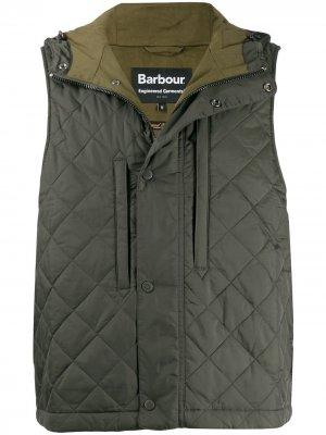 Стеганый жилет Barbour X Engineered Garments. Цвет: зеленый