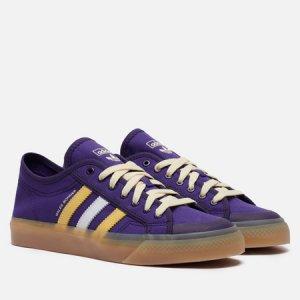 Кеды x Wales Bonner Nizza Low adidas Originals. Цвет: фиолетовый