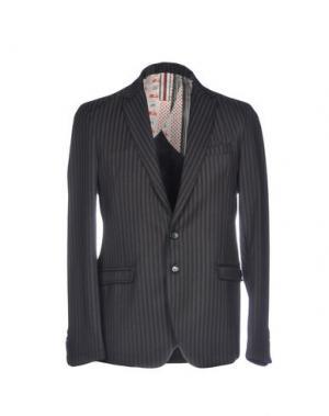 Пиджак BL.11 BLOCK ELEVEN. Цвет: темно-коричневый