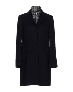 Пальто DAKS LONDON. Цвет: темно-синий
