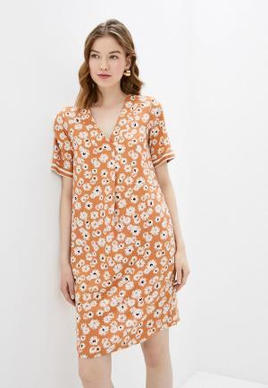 Платье adL. Цвет: оранжевый