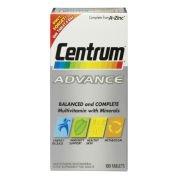 Поливитамины Advance Multivitamin Tablets - (60 таблеток) Centrum