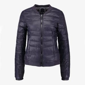 Куртка стеганая без капюшона ONLY. Цвет: синий,черный
