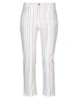 Повседневные брюки SONIA RYKIEL. Цвет: белый
