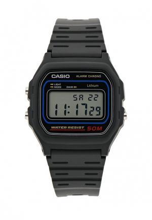 Часы Casio Collection W-59-1. Цвет: черный