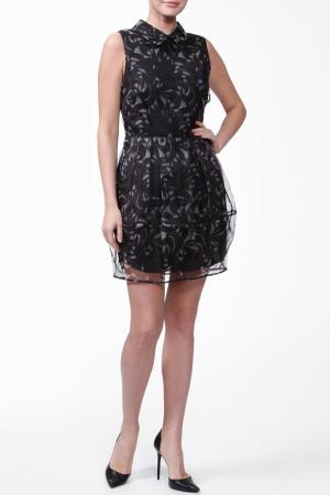 Платье CAMILLA AND MARC. Цвет: черный, принт