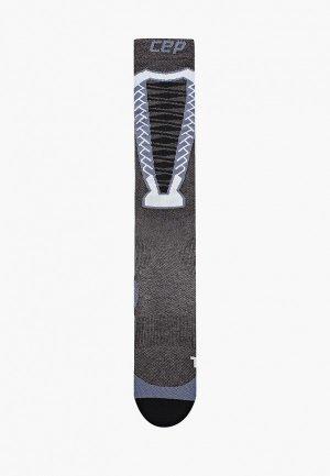 Компрессионные гольфы CEP. Цвет: серый