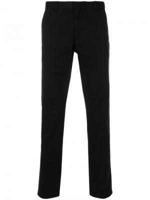 Классические брюки-чинос Calvin Klein. Цвет: чёрный