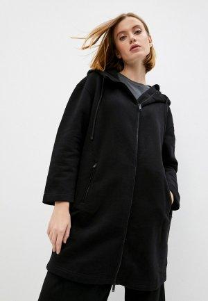 Пальто Max Mara Leisure CRIS. Цвет: черный