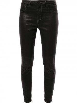 LAgence джинсы скинни средней посадки L'Agence. Цвет: черный
