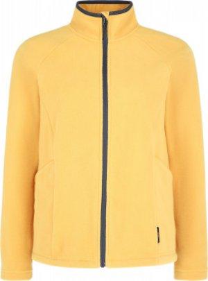 Джемпер флисовый женский , размер 44 Outventure. Цвет: желтый