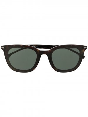 Солнцезащитные очки 1292/F/SK в квадратной оправе BOSS. Цвет: черный