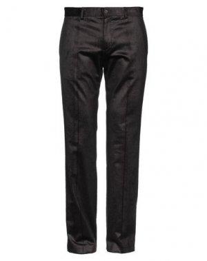 Повседневные брюки BRUUNS BAZAAR. Цвет: темно-коричневый