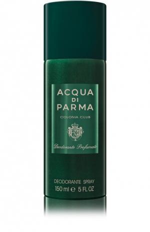Дезодорант-спрей Colonia Club Acqua di Parma. Цвет: бесцветный