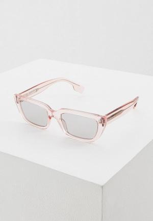 Очки солнцезащитные Burberry BE4321 388187. Цвет: розовый