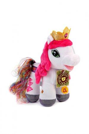 Мягкая игрушка пони Радуга Мульти-пульти. Цвет: белый