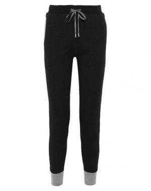 Повседневные брюки DUFFY. Цвет: черный
