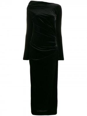 Приталенное платье миди Vivienne Westwood Anglomania. Цвет: черный