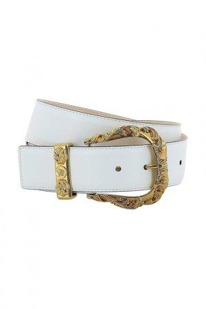 Ремень Versace. Цвет: белый